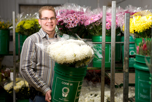 Ontario grown flowers right to your door